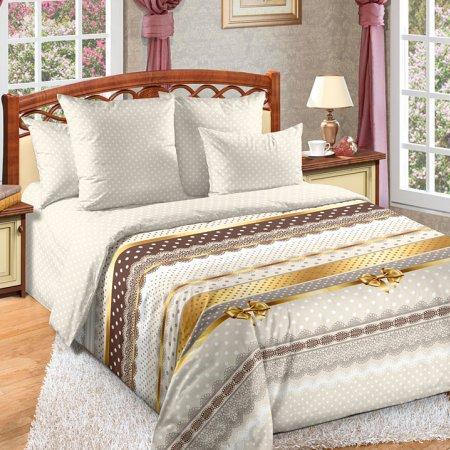 Постельное белье «Ненси» двуспальное с европростыней, Перкаль, Текс-Дизайн