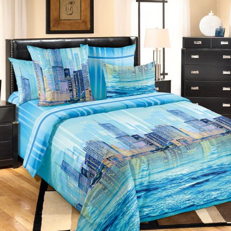 Постельное белье «Отражение» 1,5 - спальное, Перкаль, Текс-Дизайн