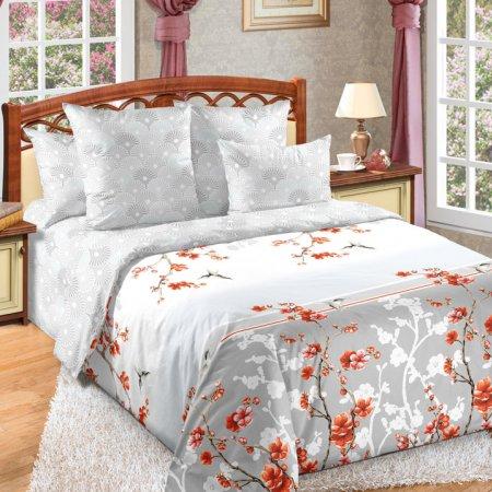 «Чувство 1 сер.» двуспальное с европростыней постельное белье, Перкаль, Текс-Дизайн
