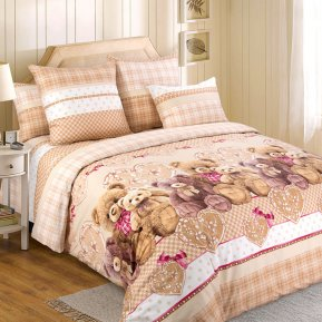 «Подарок» двуспальное постельное белье, Перкаль, Текс-Дизайн