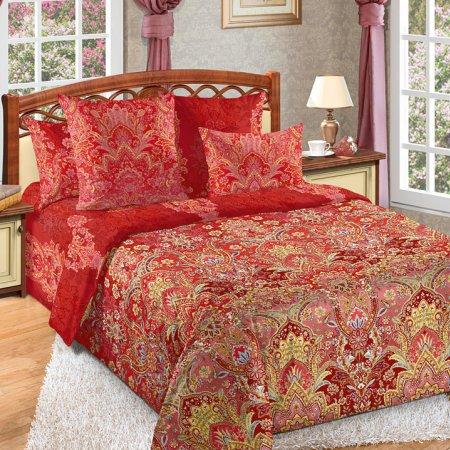 Постельное белье «Герцогиня» двуспальное с европростыней, Перкаль, Текс-Дизайн