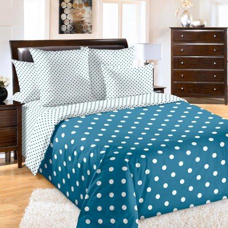 Постельное белье «Элис 4 син» 1,5 - спальное, Перкаль, Текс-Дизайн