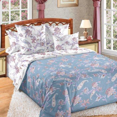 Постельное белье «Виавель» двуспальное с европростыней, Перкаль, Текс-Дизайн