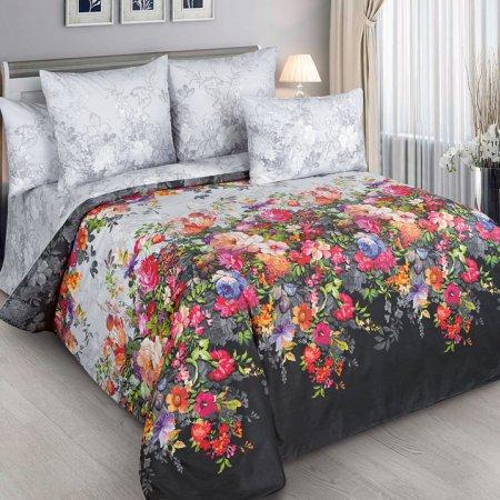 Постельное белье «Марго» двуспальное с европростыней, Перкаль, Текс-Дизайн