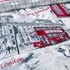 Постельное белье «Лондон» двуспальное с европростыней, Перкаль, Текс-Дизайн