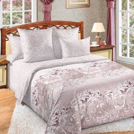 Постельное белье «Изящество» двуспальное с европростыней, Перкаль, Текс-Дизайн