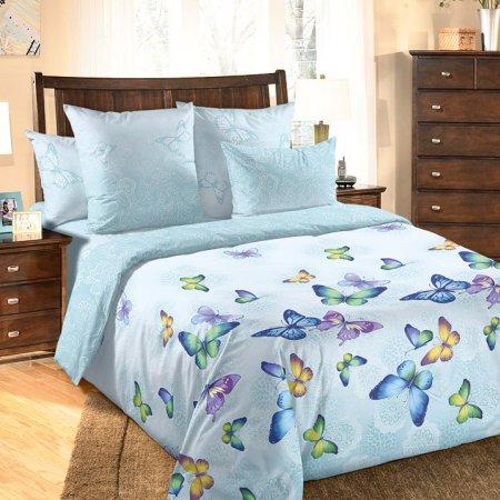Постельное белье «Баттерфляй» 1,5 - спальное, Перкаль, Текс-Дизайн