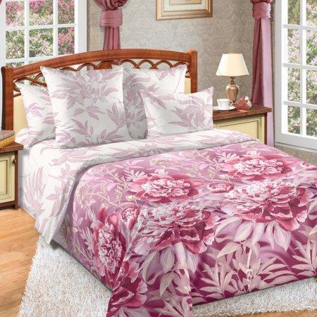 «Пенелопа 1 роз» двуспальное постельное белье, Перкаль, Текс-Дизайн