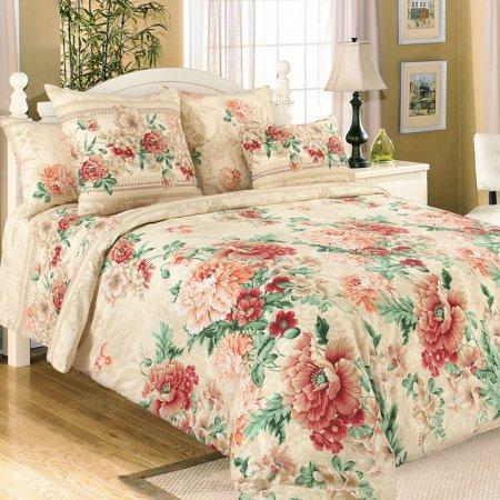 Постельное белье «Парадиз 1 беж.» 1,5 - спальное, Перкаль, Текс-Дизайн