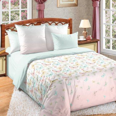 Постельное белье «Мон Амур» двуспальное с европростыней, Перкаль, Текс-Дизайн