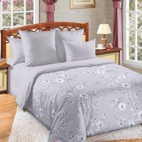 «Камилла 1 сер» двуспальное с европростыней постельное белье, Перкаль, Текс-Дизайн