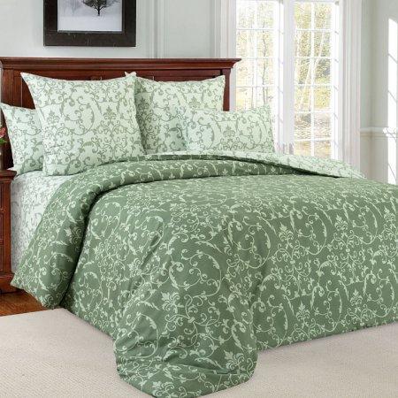 Постельное белье «Вирджиния 6 зел» 1,5 - спальное, Перкаль, Текс-Дизайн