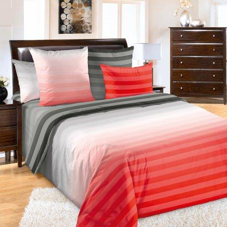 Постельное белье «Туманное утро 10 красн.» 1,5 - спальное, Перкаль, Текс-Дизайн