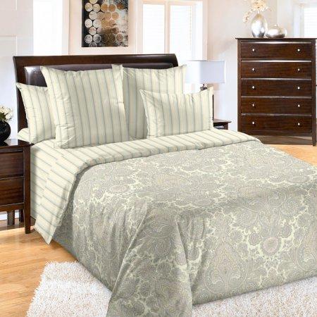 Постельное белье «Пейсли» двуспальное с европростыней, Перкаль, Текс-Дизайн