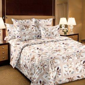 «Аделина 1 сер.» двуспальное с европростыней постельное белье, Перкаль, Текс-Дизайн