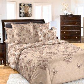 «Санта-Мария 2 беж» 1,5 - спальное постельное белье, Перкаль, Текс-Дизайн