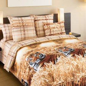 «Хранитель» двуспальное с европростыней постельное белье, Перкаль, Текс-Дизайн