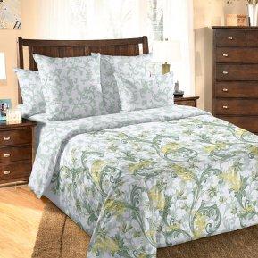 «Сюжет» двуспальное с европростыней постельное белье, Перкаль, Текс-Дизайн