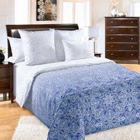 «Созвездие 1 син» 1,5 - спальное постельное белье, Перкаль, Текс-Дизайн