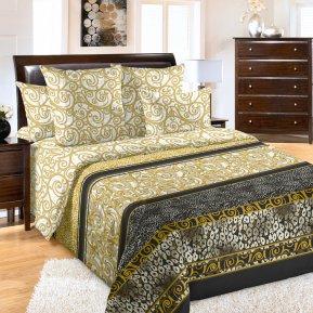 «Золото скифов» двуспальное с европростыней постельное белье, Перкаль, Текс-Дизайн