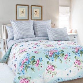 «Фиалка 3 гол.» семейное постельное белье, Перкаль, Текс-Дизайн
