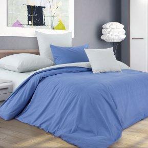 «Черничный десерт» двуспальное с европростыней постельное белье, Перкаль, Текс-Дизайн