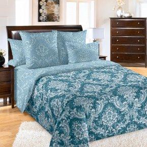 «Мельпомена 2 син» 1,5 - спальное постельное белье, Перкаль, Текс-Дизайн