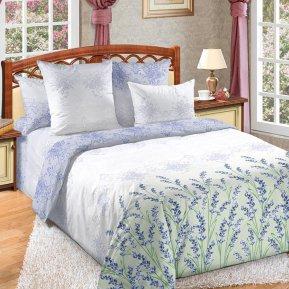 «Вдохновение 1 фиол» двуспальное с европростыней постельное белье, Перкаль, Текс-Дизайн