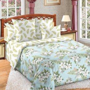 «Тропики 1 гол» двуспальное с европростыней постельное белье, Перкаль, Текс-Дизайн