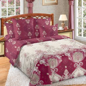 «Шедевр 1 красн» 1,5 - спальное постельное белье, Перкаль, Текс-Дизайн
