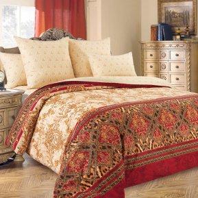 «Императрица» двуспальное с европростыней постельное белье, Перкаль, Текс-Дизайн