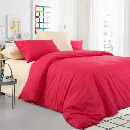 Постельное белье «Махровый тюльпан» семейное, Перкаль, Текс-Дизайн
