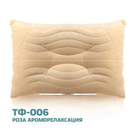 """Подушка """"ТФ-006"""" Роза ароморелаксация 50х70, Goldtex"""