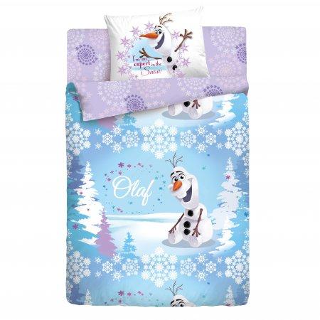 «Олаф зима» 1,5 - спальное постельное белье, Ранфорс, НордТекс