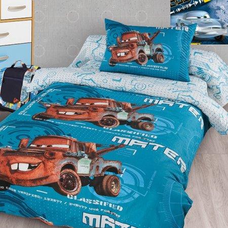 «Тачки (Метр)» 1,5 - спальное постельное белье, Ранфорс, НордТекс