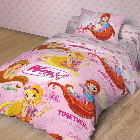 «Winx together» 1,5 - спальное постельное белье, Поплин, НордТекс