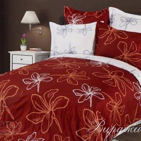 «Вирджиния» семейное постельное белье, САТИН-Жаккард, Goldtex