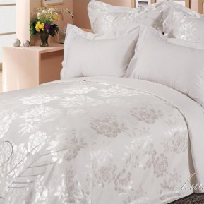 «Аманда» семейное постельное белье, САТИН-Жаккард, Goldtex