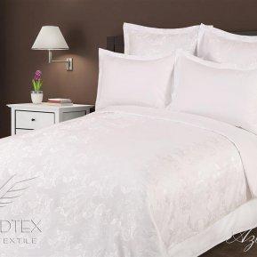 «Азалия» семейное постельное белье, САТИН-Жаккард, Goldtex