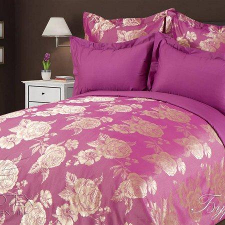 Постельное белье «Бурбон» 1,5 - спальное, САТИН-Жаккард, Goldtex