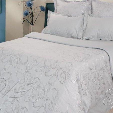 Постельное белье «Грейс» 1,5 - спальное, САТИН-Жаккард, Goldtex