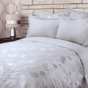 «Мерседес» двуспальное + евро постельное белье, САТИН-Жаккард, Goldtex