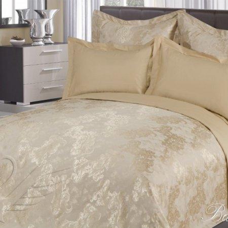 Постельное белье «Ванесса №2» 1,5 - спальное, САТИН-Жаккард, Goldtex