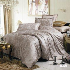 «JC-05-282» 1,5 - спальное постельное белье, Сатин-Жаккард, Вальтери