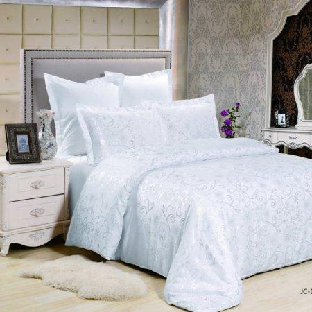«JC-125-282» 1,5 - спальное постельное белье, Сатин-Жаккард, Вальтери