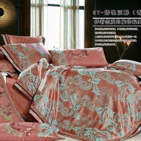 «JC-130-282» 1,5 - спальное постельное белье, Сатин-Жаккард, Вальтери