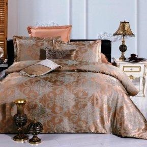 «JC-20-282» 1,5 - спальное постельное белье, Сатин-Жаккард, Вальтери