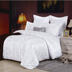 «JC-27-282» 1,5 - спальное постельное белье, Сатин-Жаккард, Вальтери