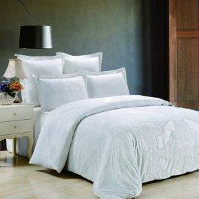 «JC-33-282» 1,5 - спальное постельное белье, Сатин-Жаккард, Вальтери