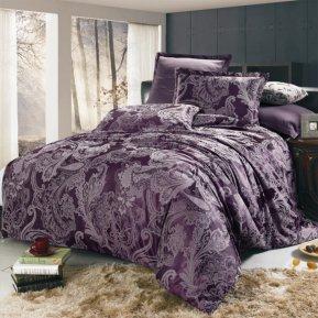 «JC-03-282» 1,5 - спальное постельное белье, Сатин-Жаккард, Вальтери